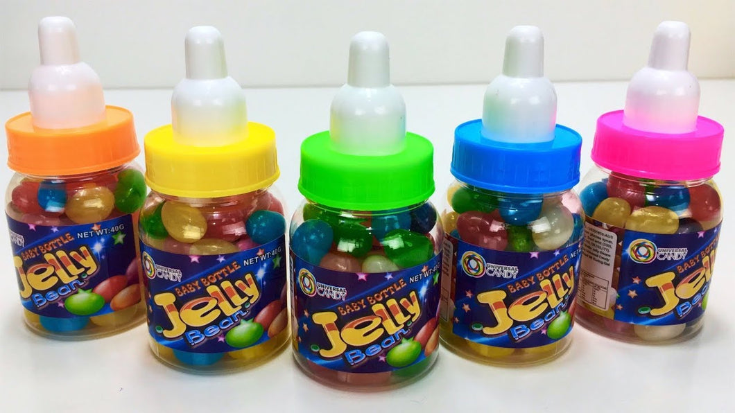 Mini Baby Bottle filled with Jelly Beans 40g