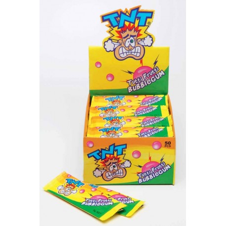 TNT Tutti Frutti Bubble Gum sticks