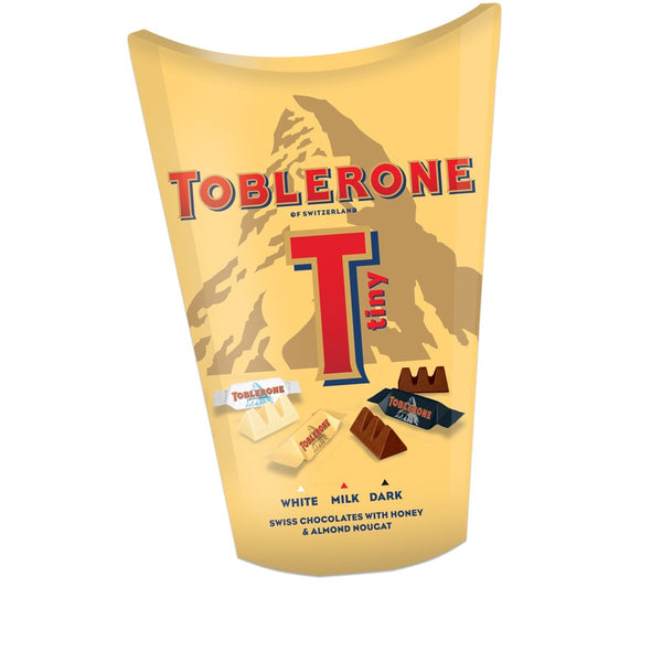 Toblerone Tiny Chocolates White/Milk/Dark 160g
