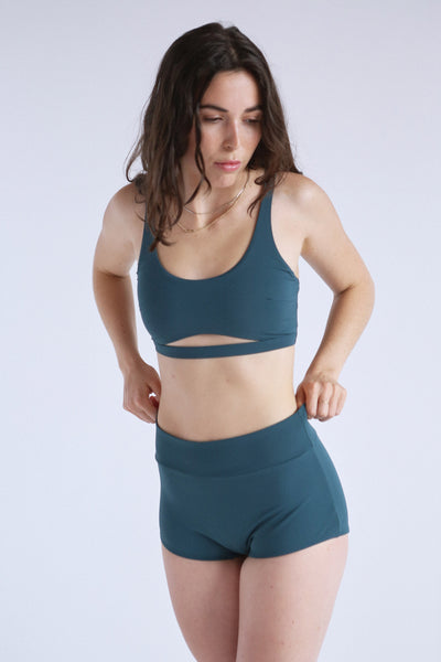 Surf Top in Sage