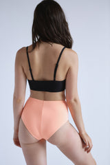 High Waist Bikini in Mango