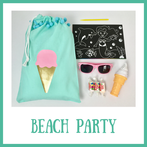 Beach Party Filled Party Bag