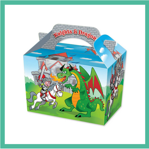 Knights and Dragons Party Box