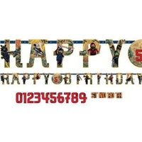 Happy Birthday Lego Ninjago Banner