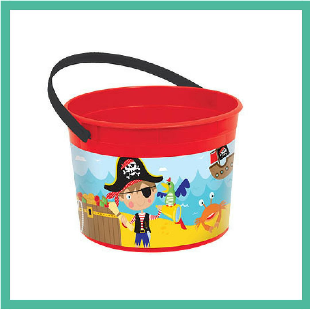 Little Pirate Party Bucket