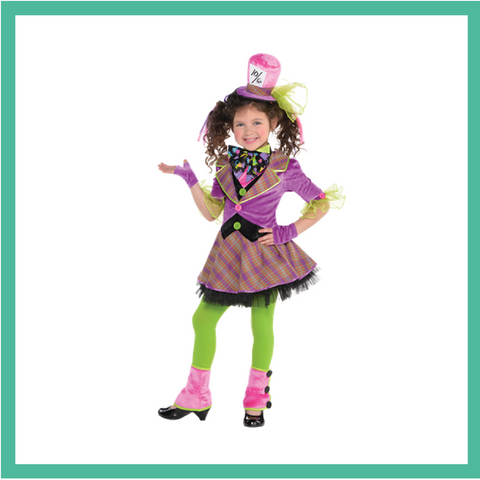 Mad Hatter Child Costume 1