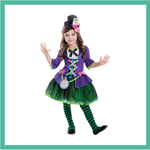 Mad Hatter Child Costume 2