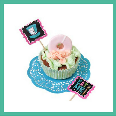 Mad Hatter Cupcake Picks