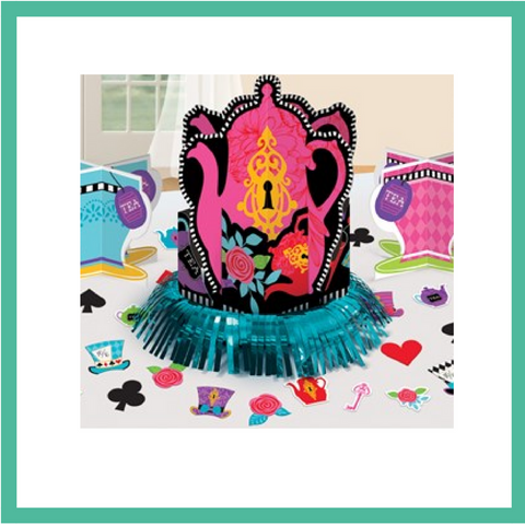 Mad Hatter's Tea Party Table Decoration Kit