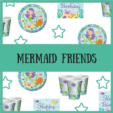 Mermaid Friends Kids Party Package