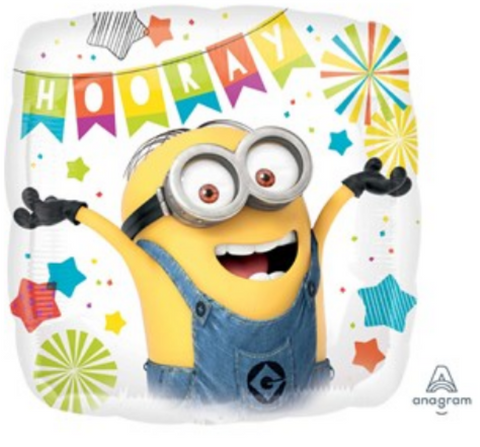 Minion square Foil Balloon 18""