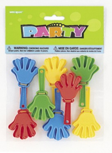 Party Clappers 8pk