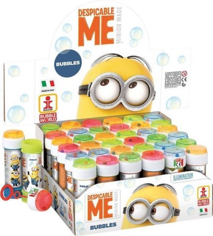 Minion Party Bubbles