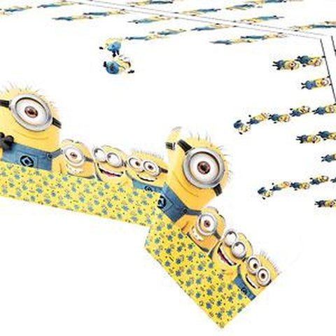 Minion Table Cover White 120cm x 180cm
