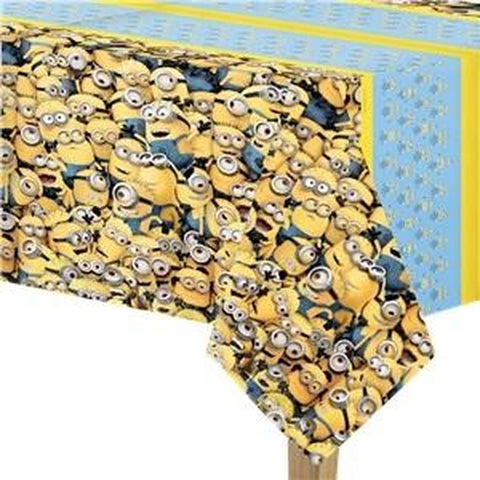 Minion Table Cover Blue 120cm x 180cm