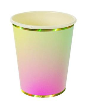 Ombre Party Cups x 8
