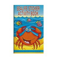 Sealife Activity Sticker Book