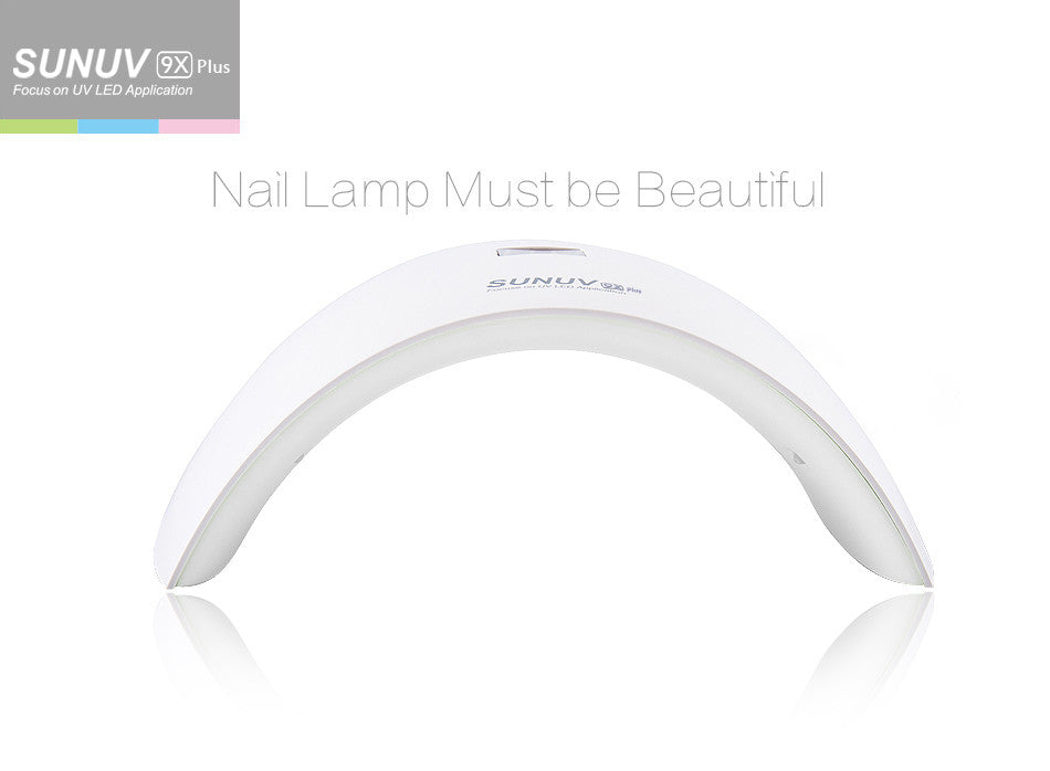 SUN9X Plus 36W Professional UV LED Nail Lamp
