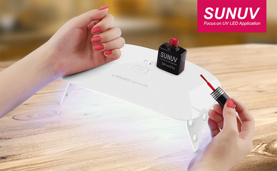 Sunmini2 Plus 24W Small UV LED Nail Lamp