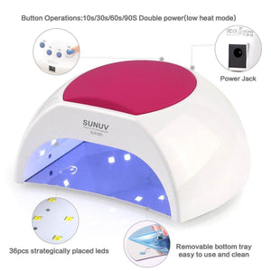 SUNUV SUN2C 48W Professional UV LED Nail Lamp