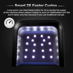 SUN3 48W Smart UV LED Nail Lamp - SUNUV Nail Lamp Store