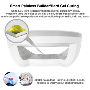 SUN7 48W Smart Wireless UV LED Nail Lamp