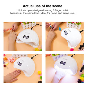 SUNUV SUN5 48W Professional UV LED Nail Lamp