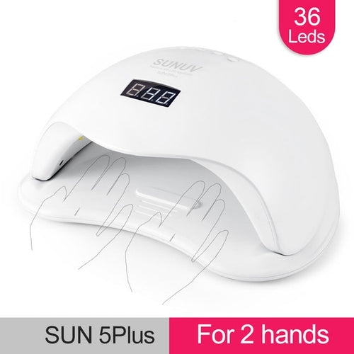 SUN5 Plus 48W Professional UV LED Nail Lamp