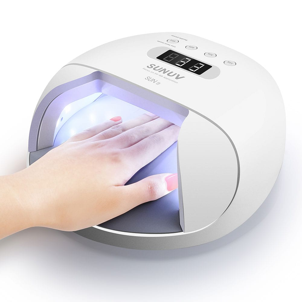 SUN7 48W Smart Wireless UV LED Nail Lamp – SUNUVStore