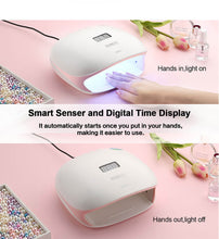 SUNUV SUN4S 48W Smart UV LED Nail Lamp