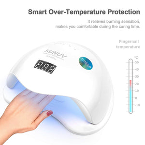 SUNUV SUN5 Plus 48W Professional UV LED Nail Lamp