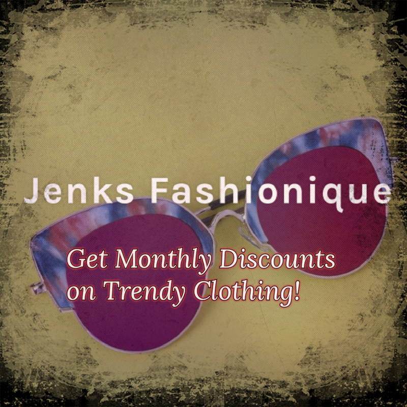 Monthly Discounts on Fashionable Clothing
