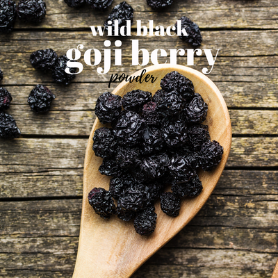 Wild Black Goji Berry