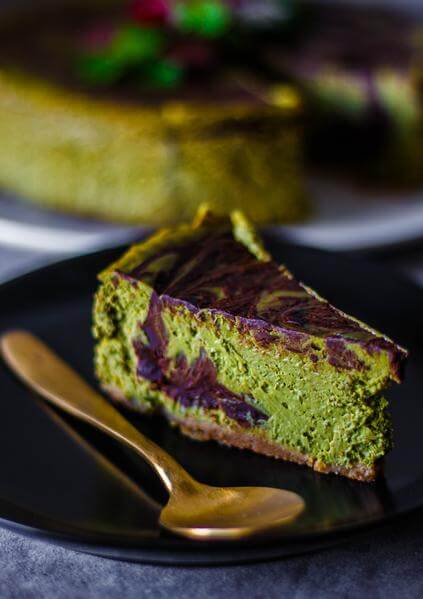 Healthier Baked Matcha ingredients