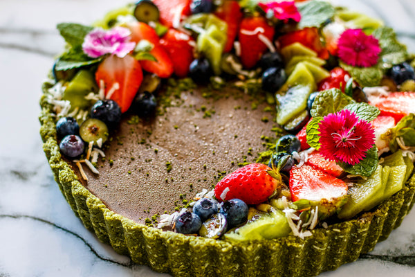 Chocolate Matcha Tart