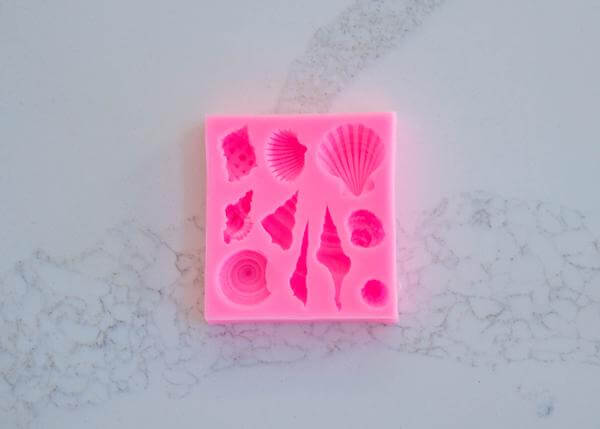 SEASHELL SILICONE MOULD