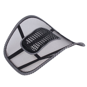 CoolGearz seat cushion lumbar back support, for office chair or car
