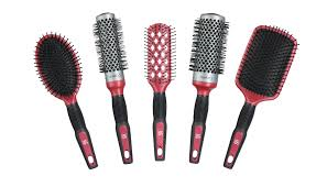 Provide hairbrushes for
