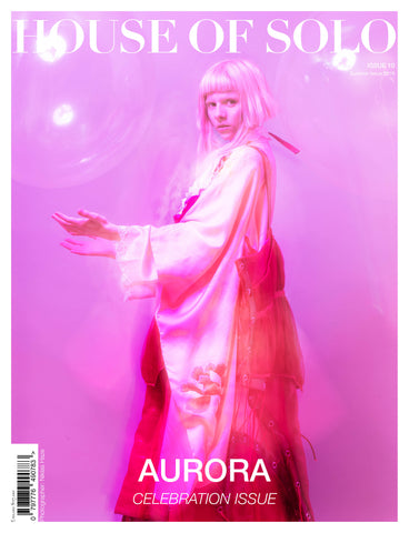 CELEBRATION ISSUE of HOUSE OF SOLO featuring AURORA