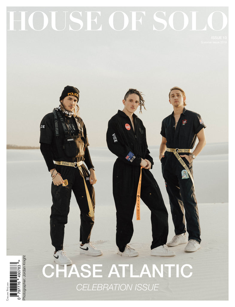 CELEBRATION ISSUE of HOUSE OF SOLO featuring CHASE ATLANTIC