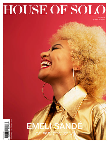 ***Pre Order***  CELEBRATION ISSUE of HOUSE OF SOLO featuring EMELI SANDÉ