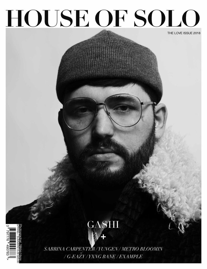 HOUSE OF SOLO Love Issue - Gashi Cover S/S 2018 (Print)