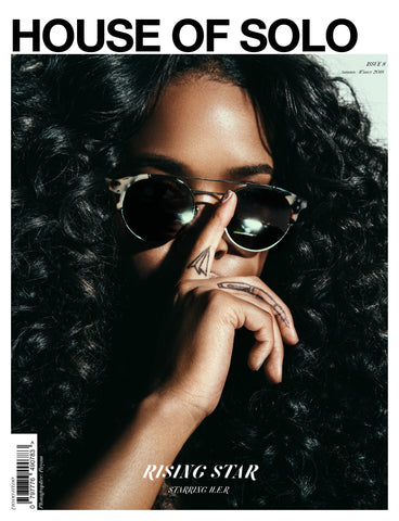 Autumn/Winter 18 issue of HOUSE OF SOLO featuring H.E.R