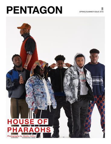 House of Pharaohs Pentagon Cover S/S19 (Pre Order Print Issue)