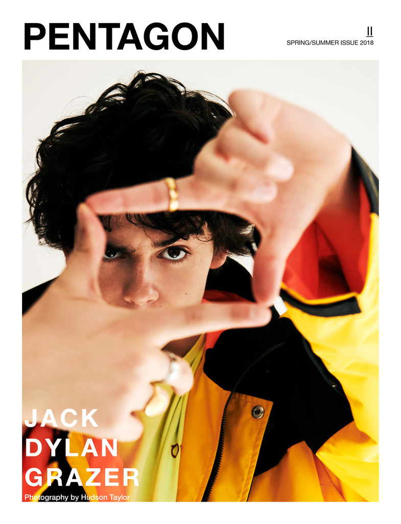 Jack Dylan Grazer Pentagon Cover S/S19 (Pre Order Print Issue)