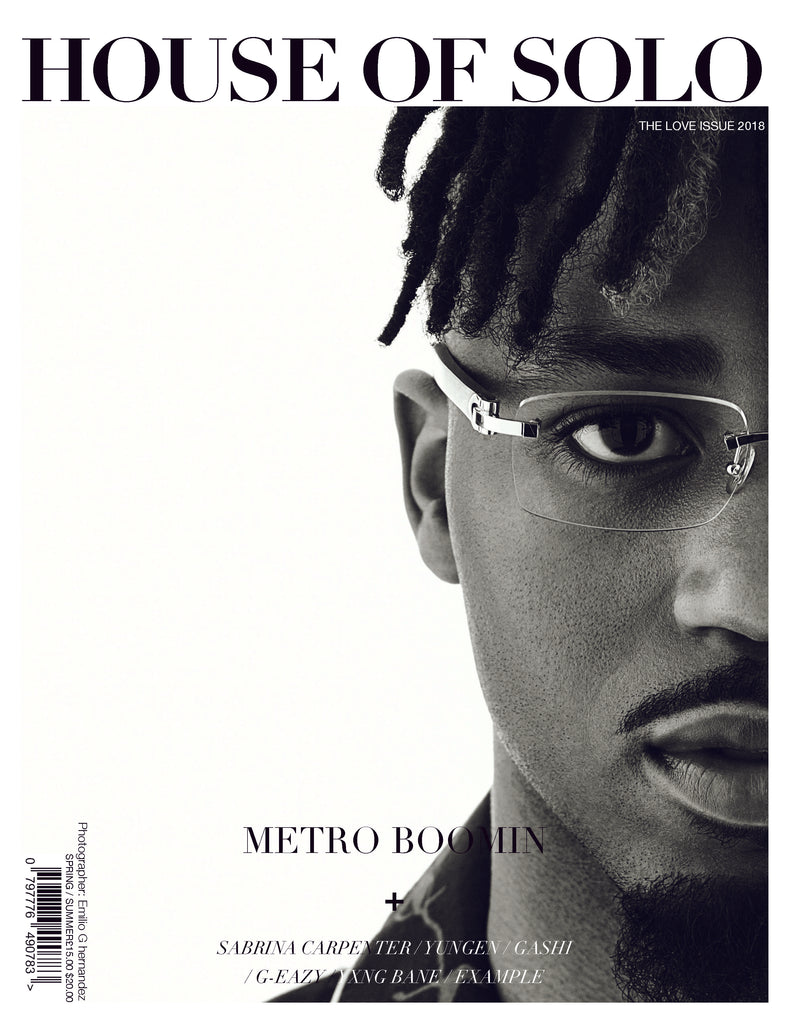 HOUSE OF SOLO Love Issue - Metro Cover S/S 2018 (Digital)