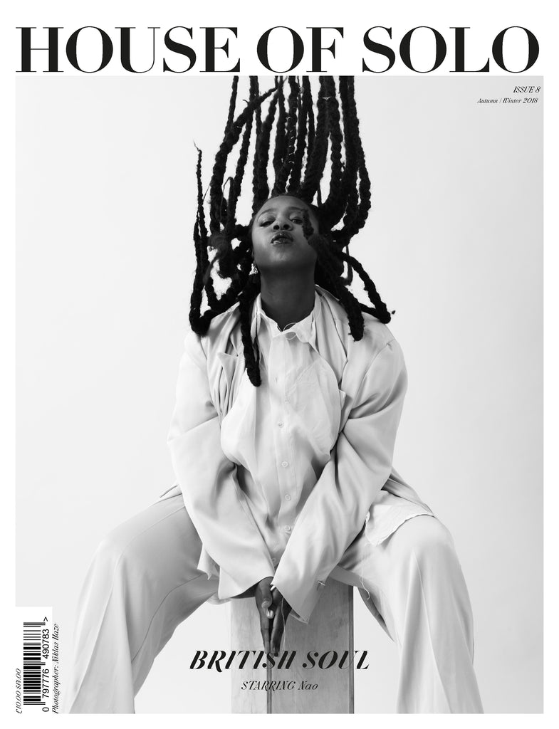 ***Pre-order the Autumn/Winter 18 issue of HOUSE OF SOLO featuring Nao