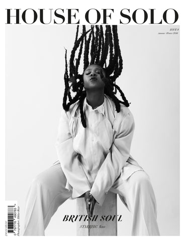 Autumn/Winter 18 issue of HOUSE OF SOLO featuring Nao