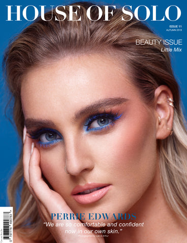 HOS BEAUTY ISSUE PERRIE EDWARDS COVER