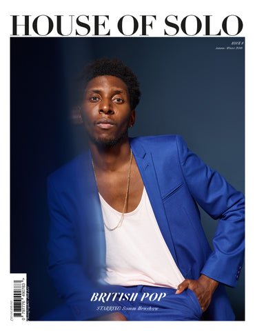 Autumn/Winter 18 issue of HOUSE OF SOLO featuring Samm Henshaw